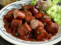 Currywurst czyli niemieckie kiełbaski z curry