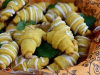 Rogaliki marchewkowe z marmoladą