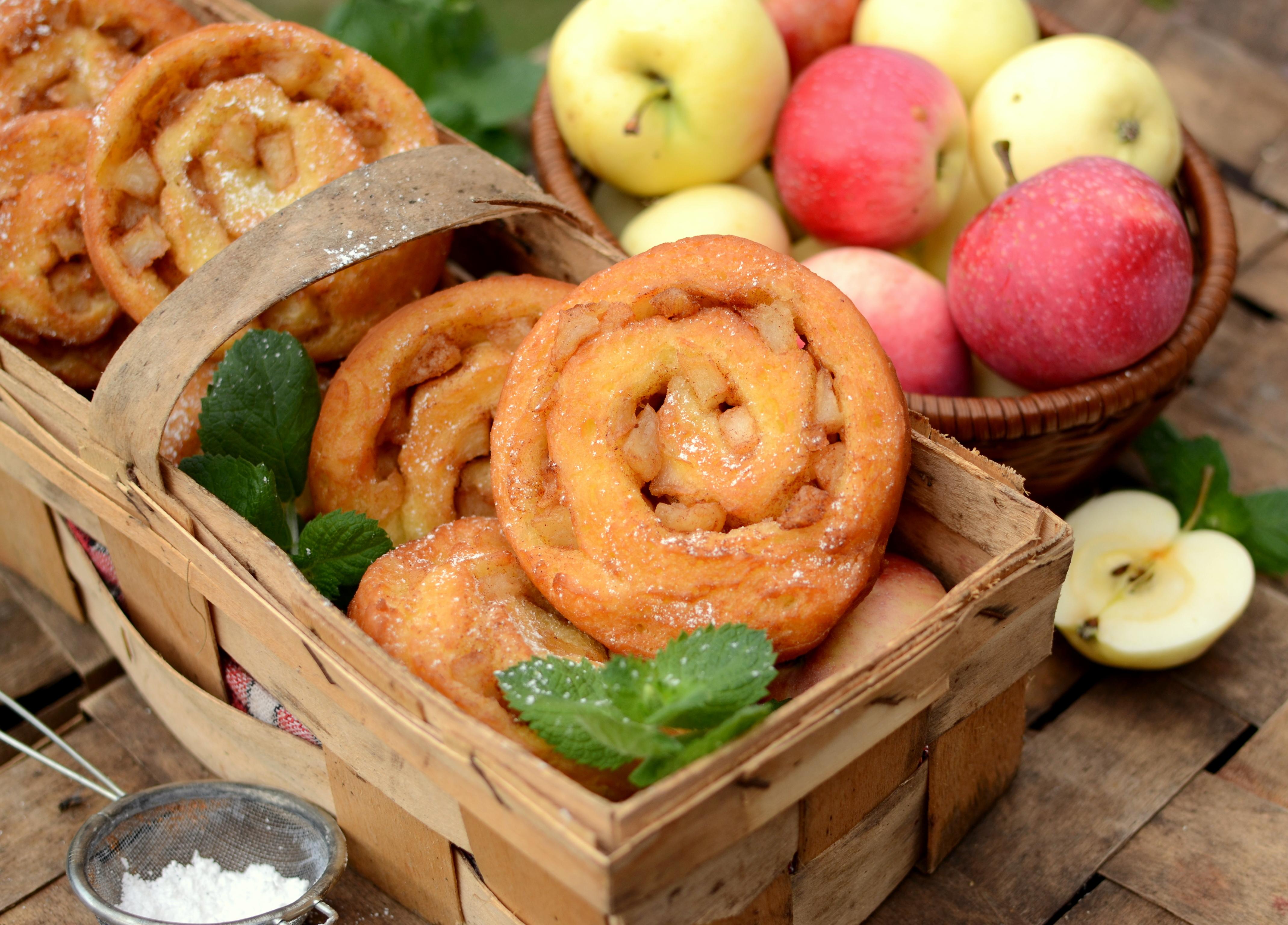 Apfelberliner czyli pączki z jabłkiem