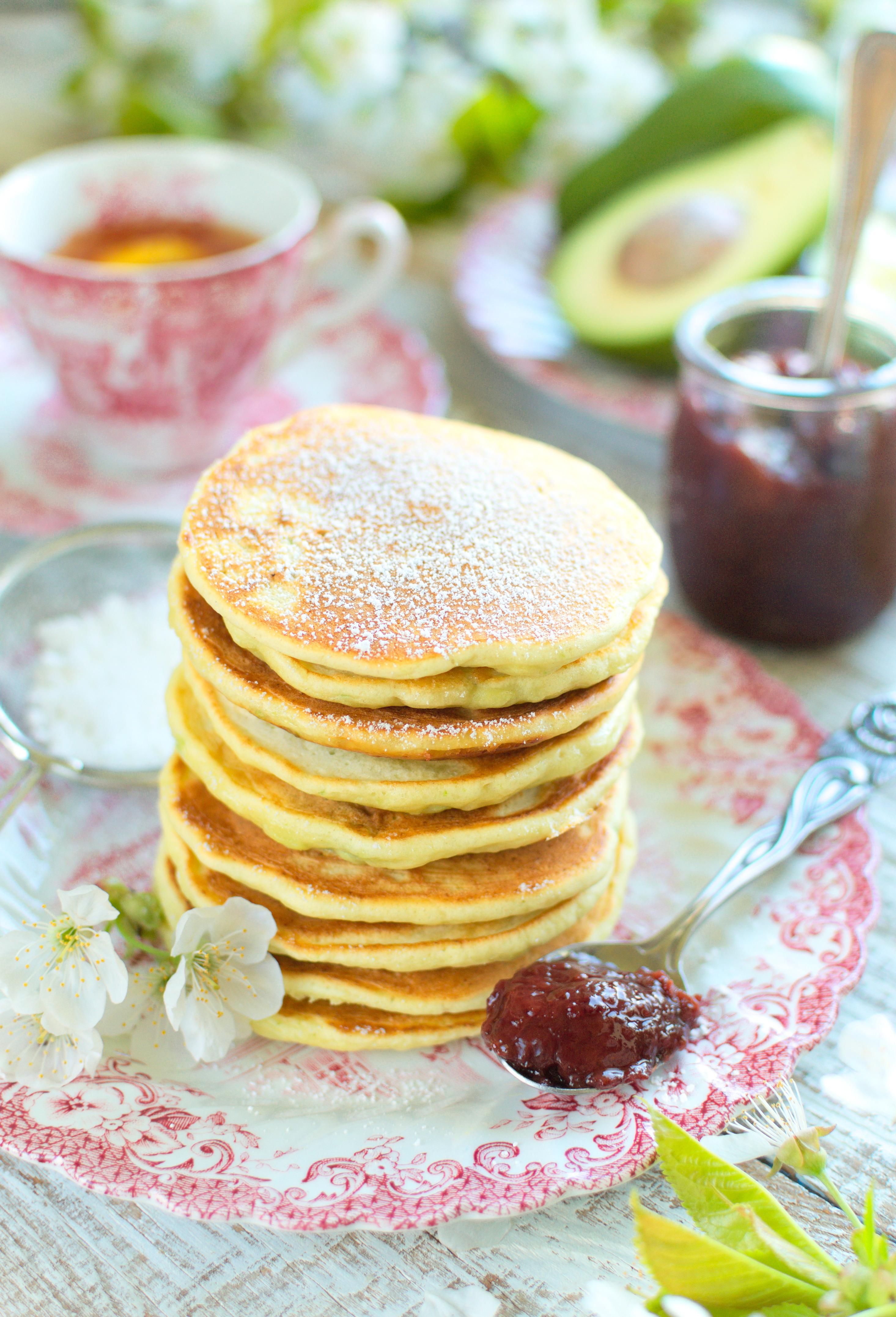 Pancakes z awokado