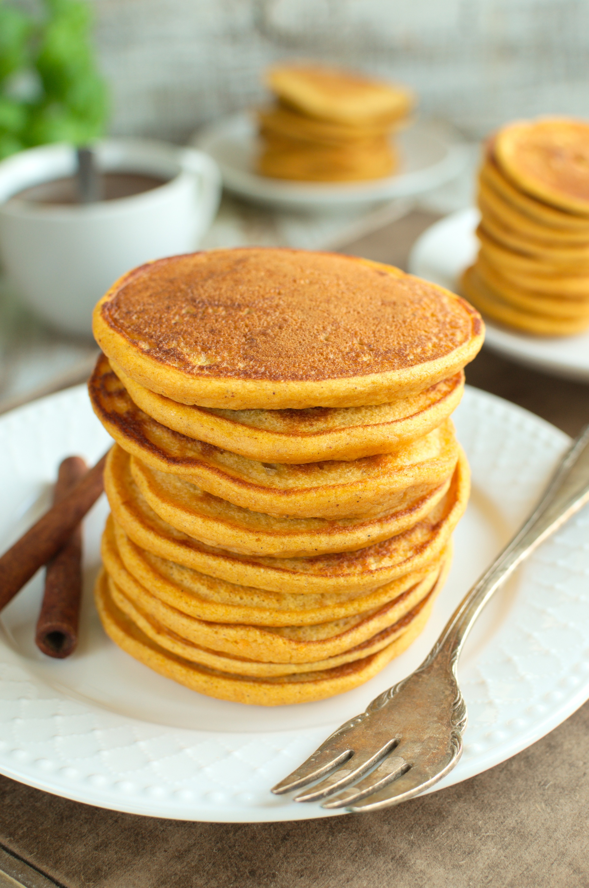 Pancakes z batatów