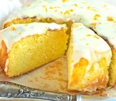 Sycylijskie ciasto pomarańczowe