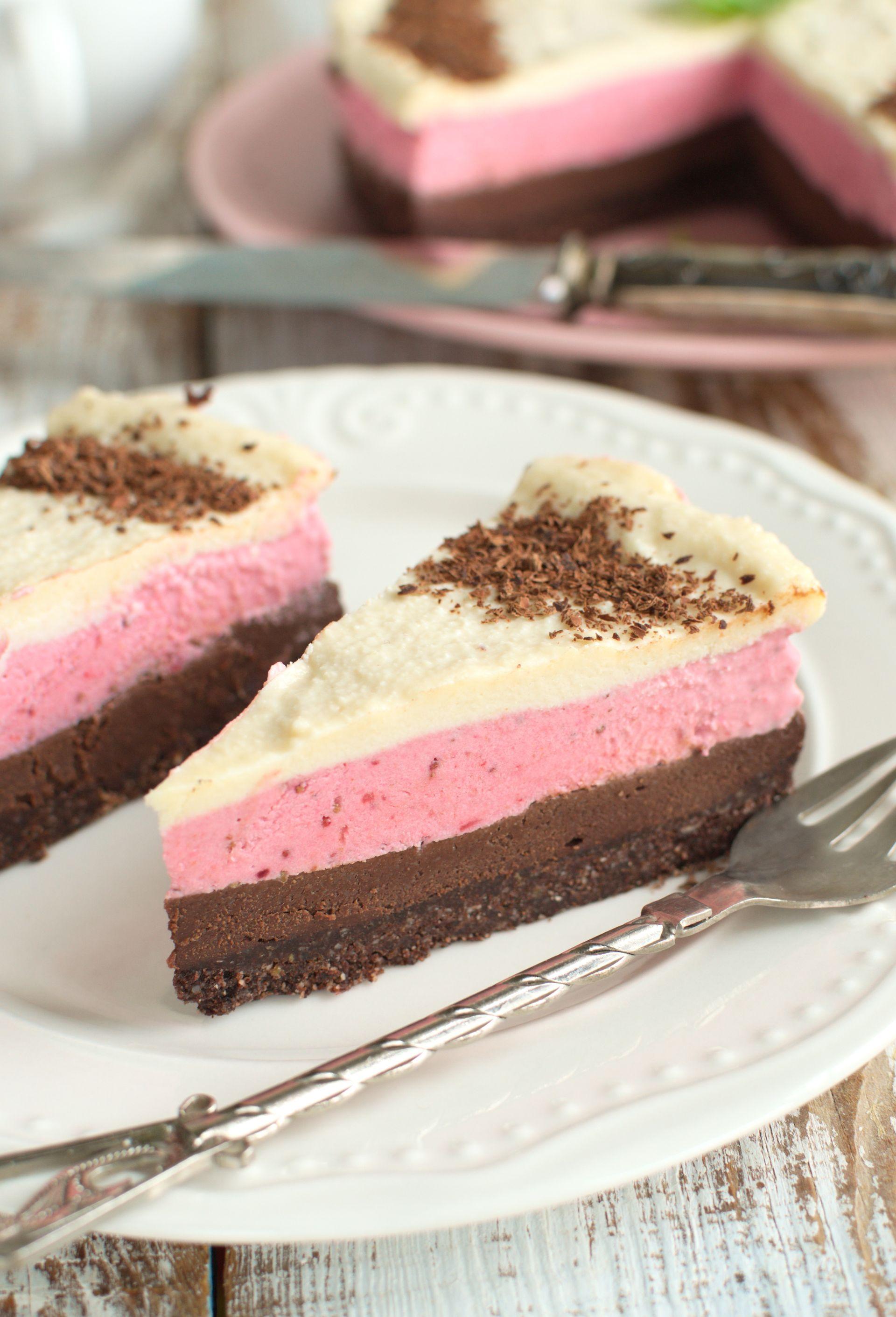 Wegańskie ciasto neapolitańskie