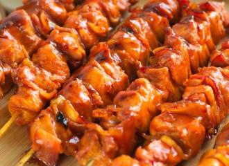 Szaszłyki barbecue (bbq)