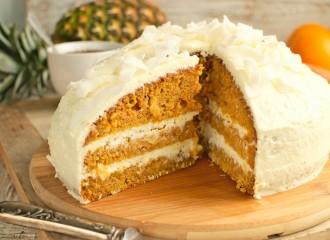 Egzotyczne ciasto marchewkowe