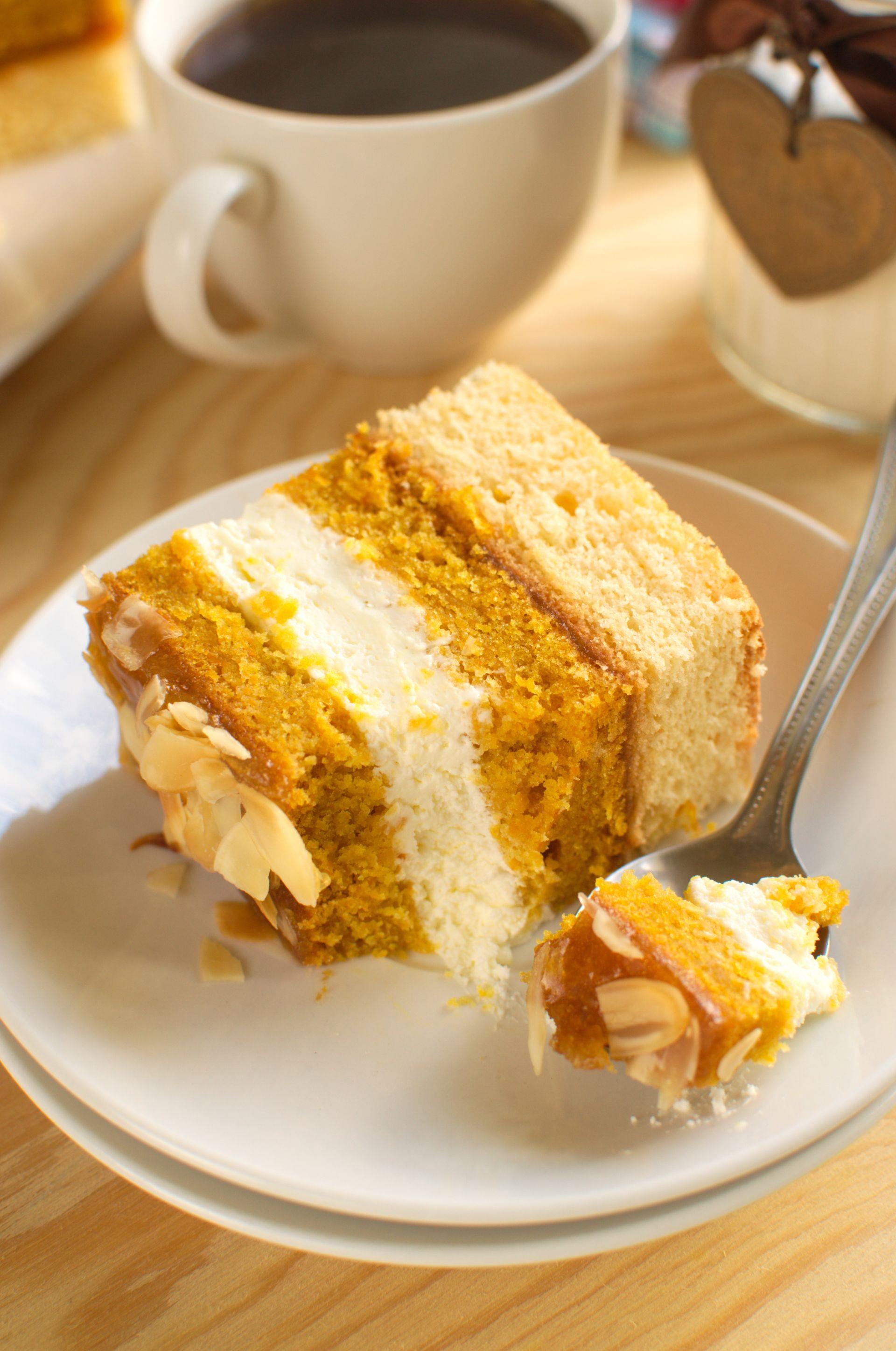 Ciasto marchewkowo-pomarańczowe