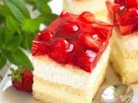 Ciasto truskawkowe trifle