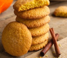 Cynamonowe ciasteczka dyniowe (Pumpkin Snickerdoodles)