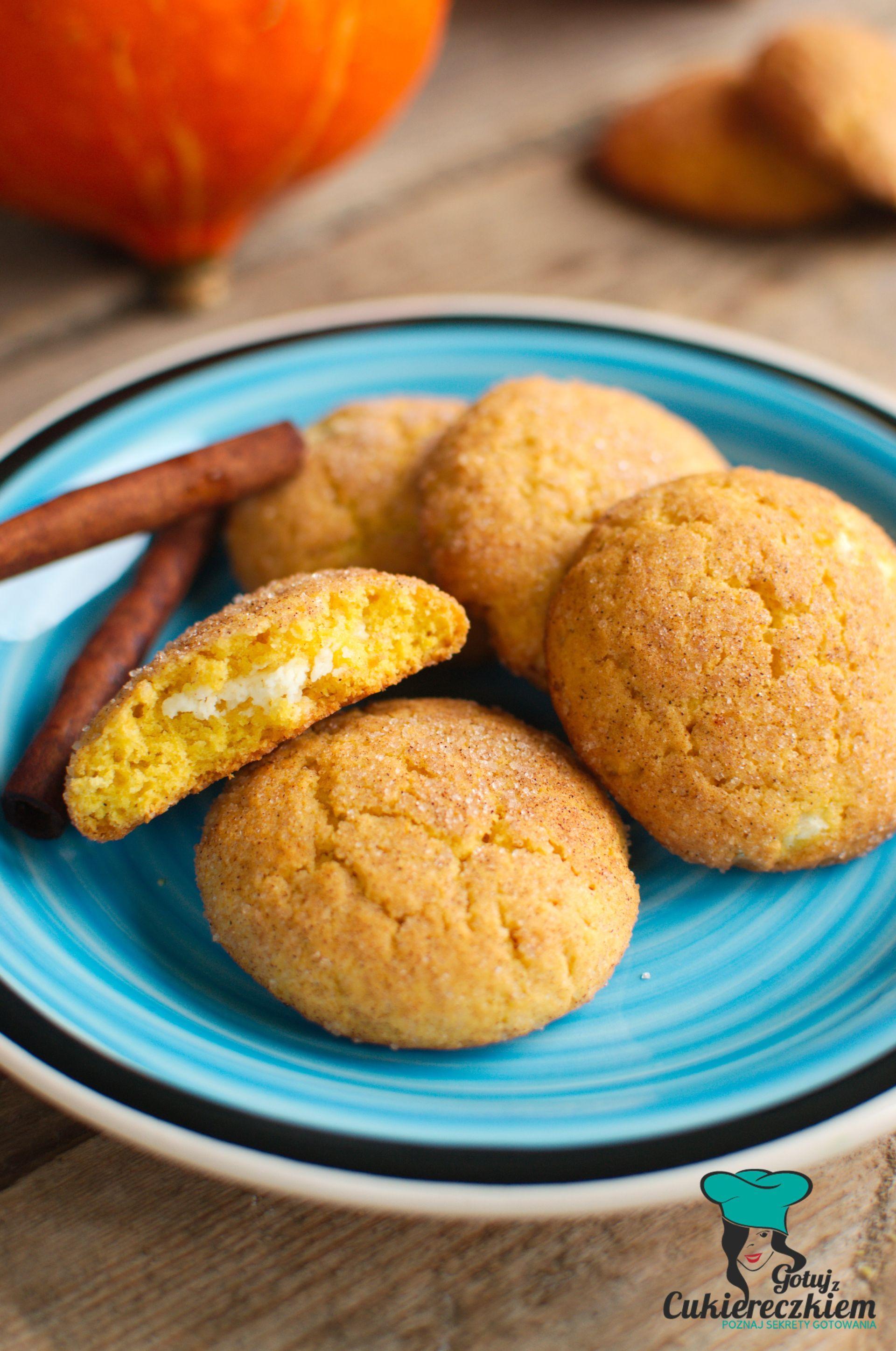 Cynamonowe ciasteczka dyniowe