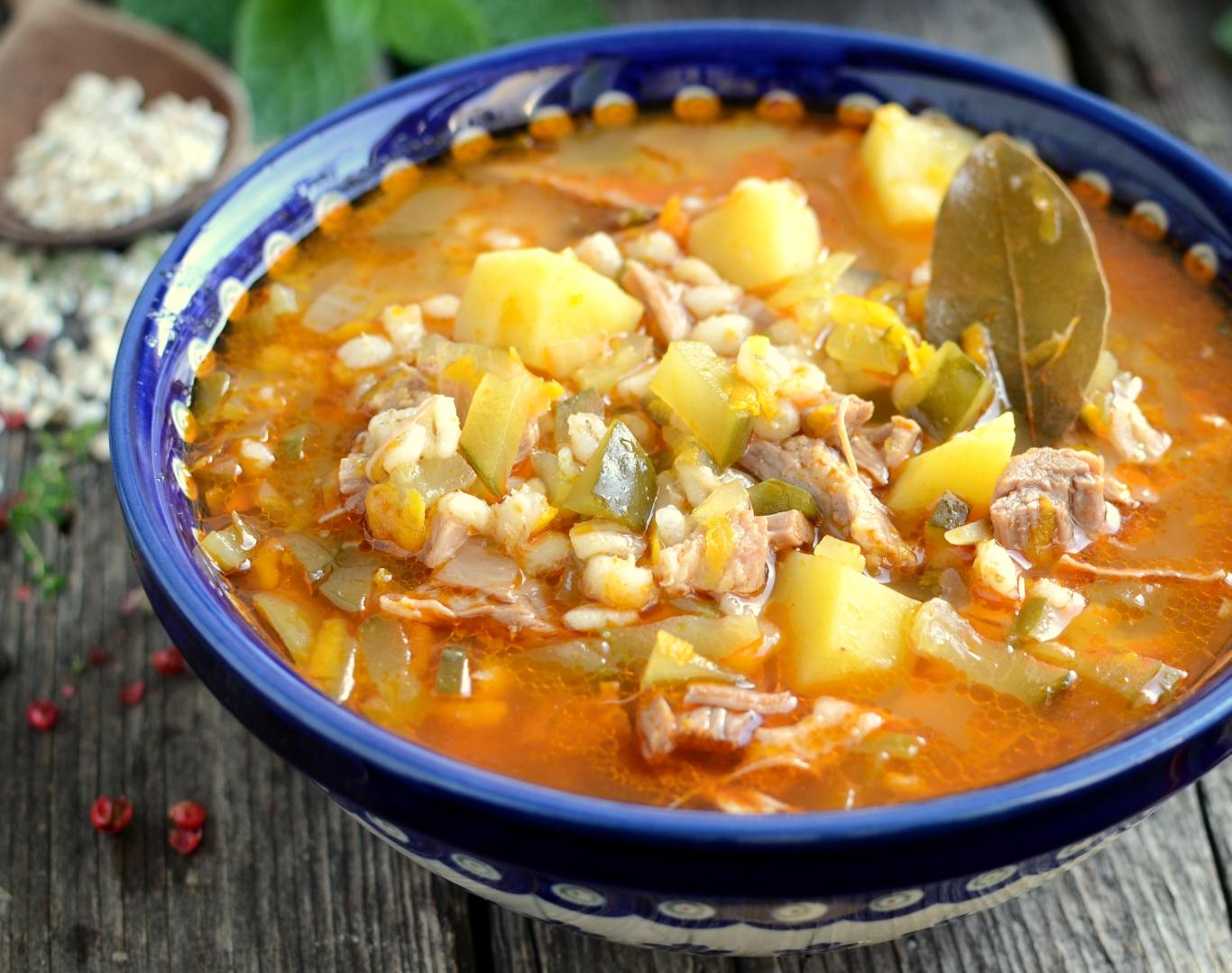 zupa ogórkowa po rosyjsku