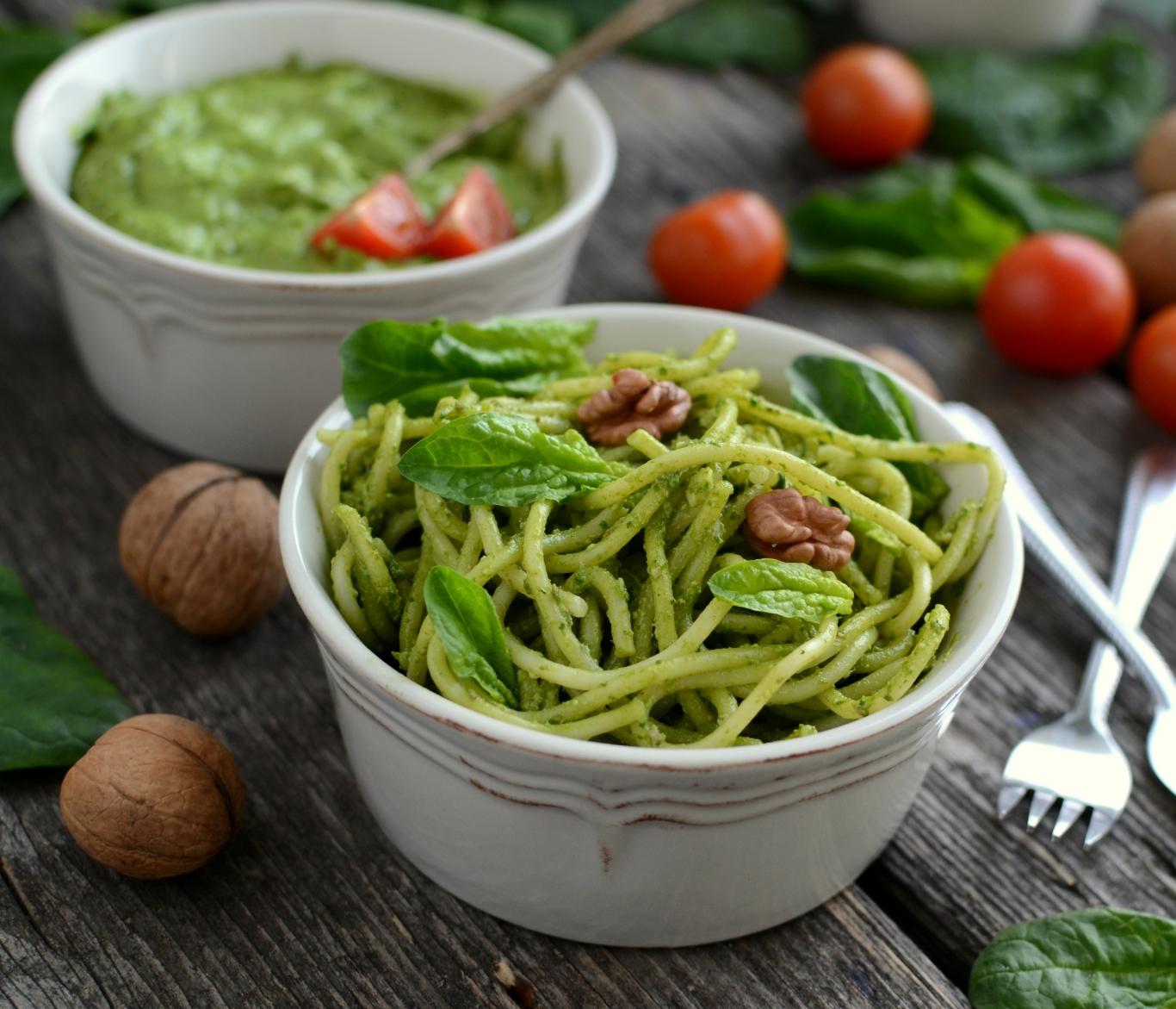 Pesto ze szpinaku