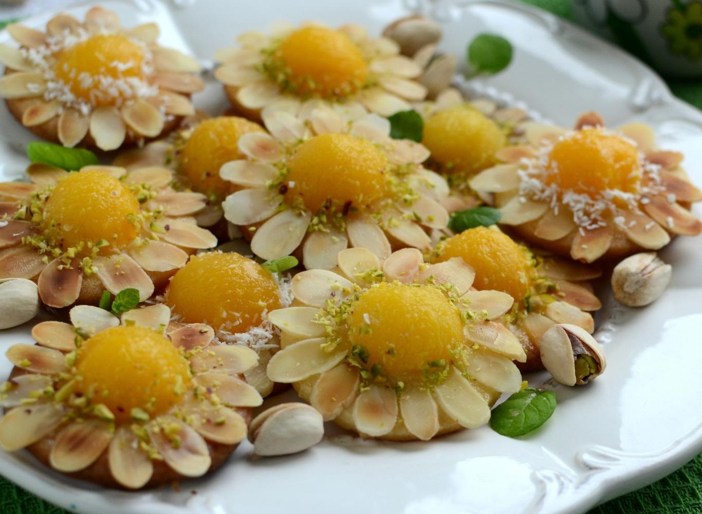 Migdałowe kwiatuszki