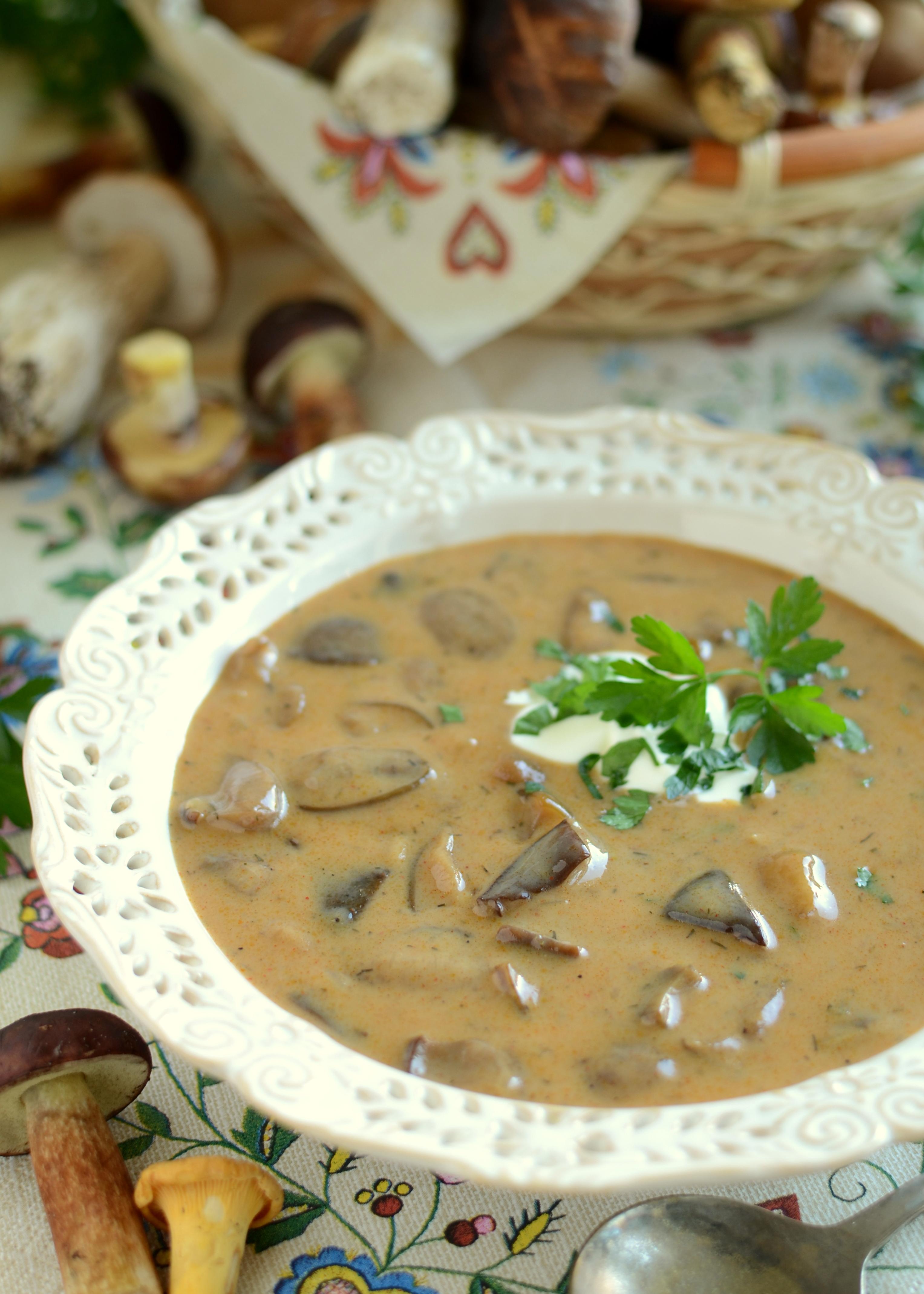 Węgierska zupa grzybowa