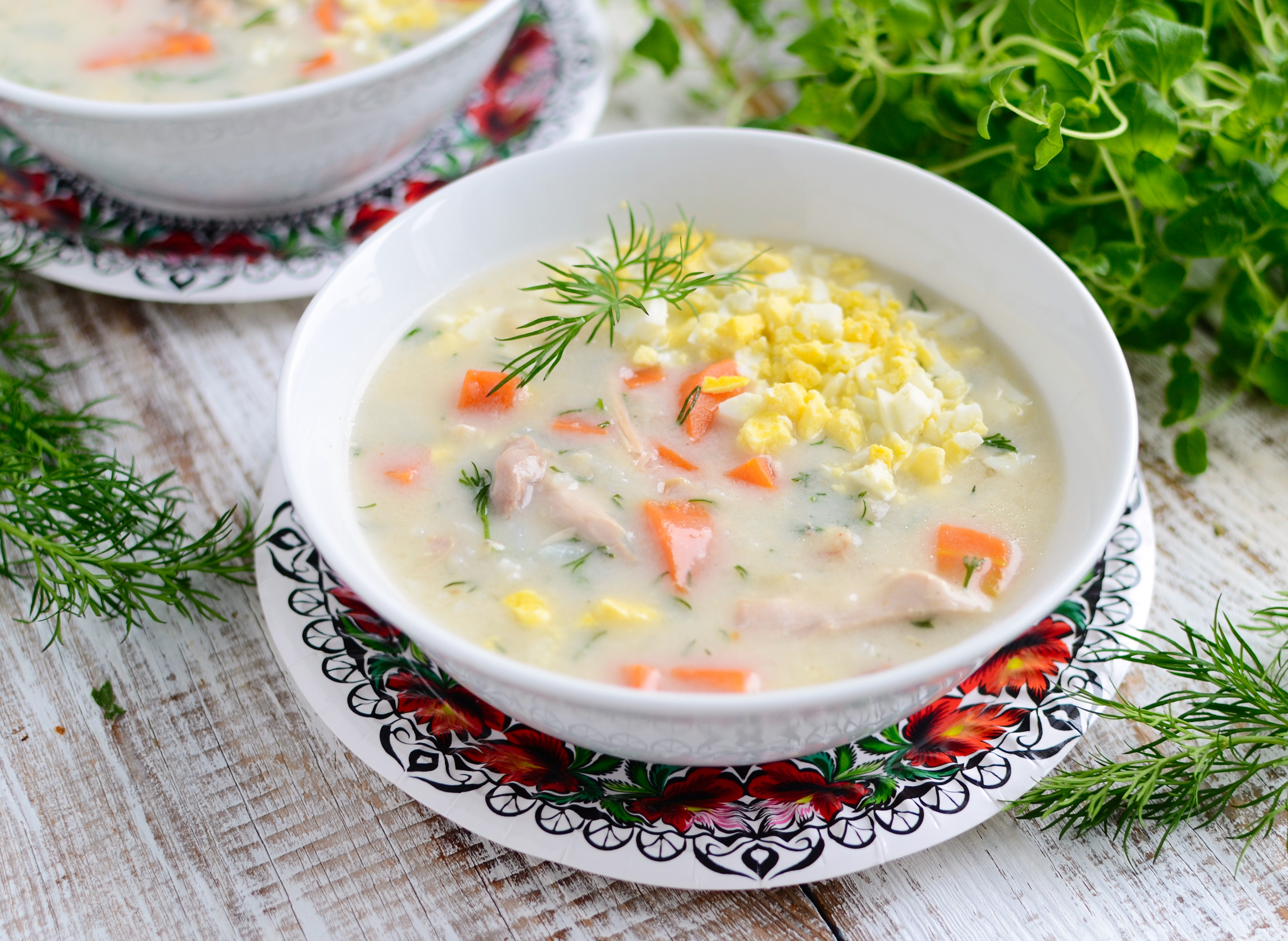 Staropolska zupa koperkowa