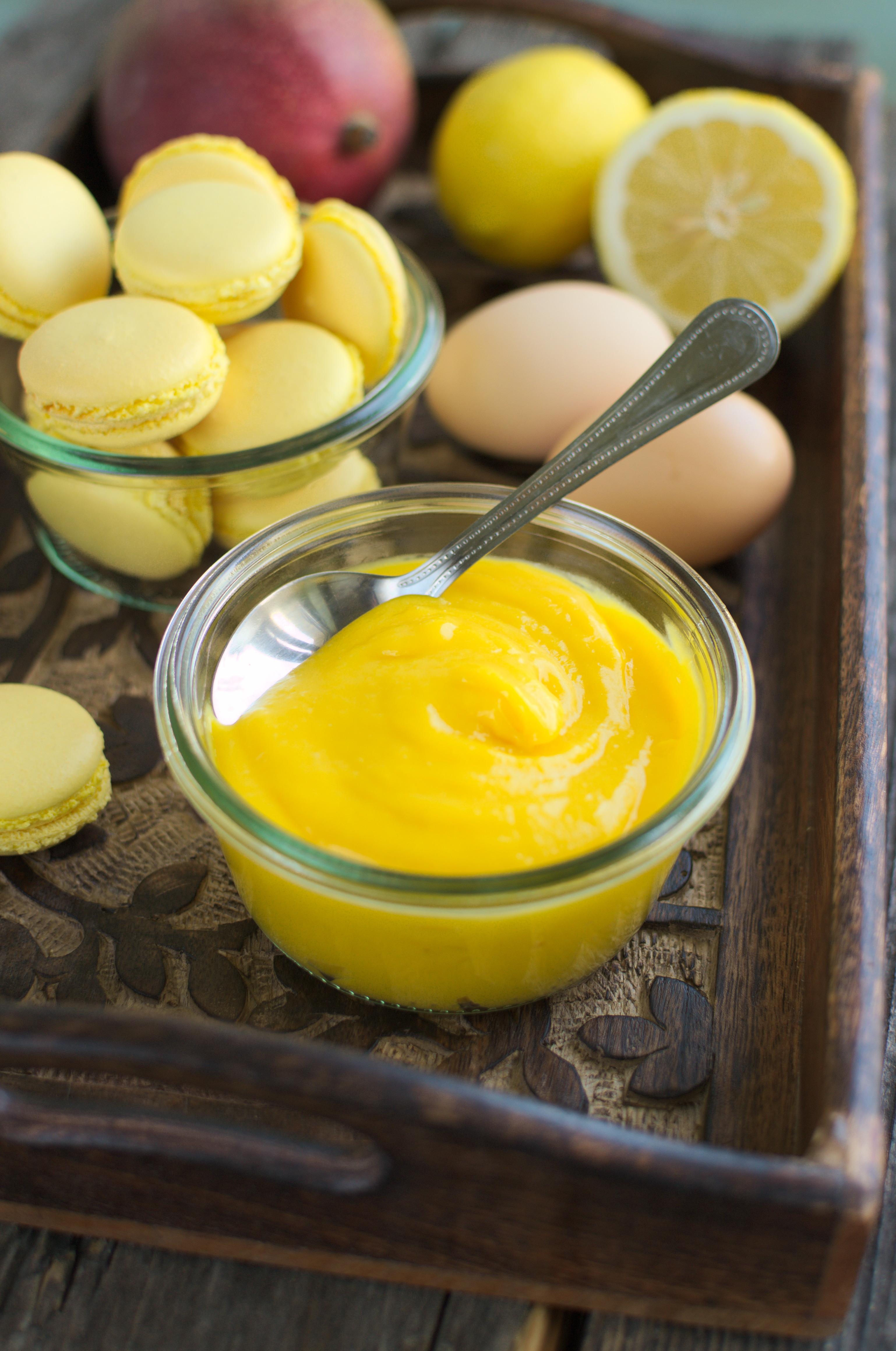 Krem z mango (mango curd)