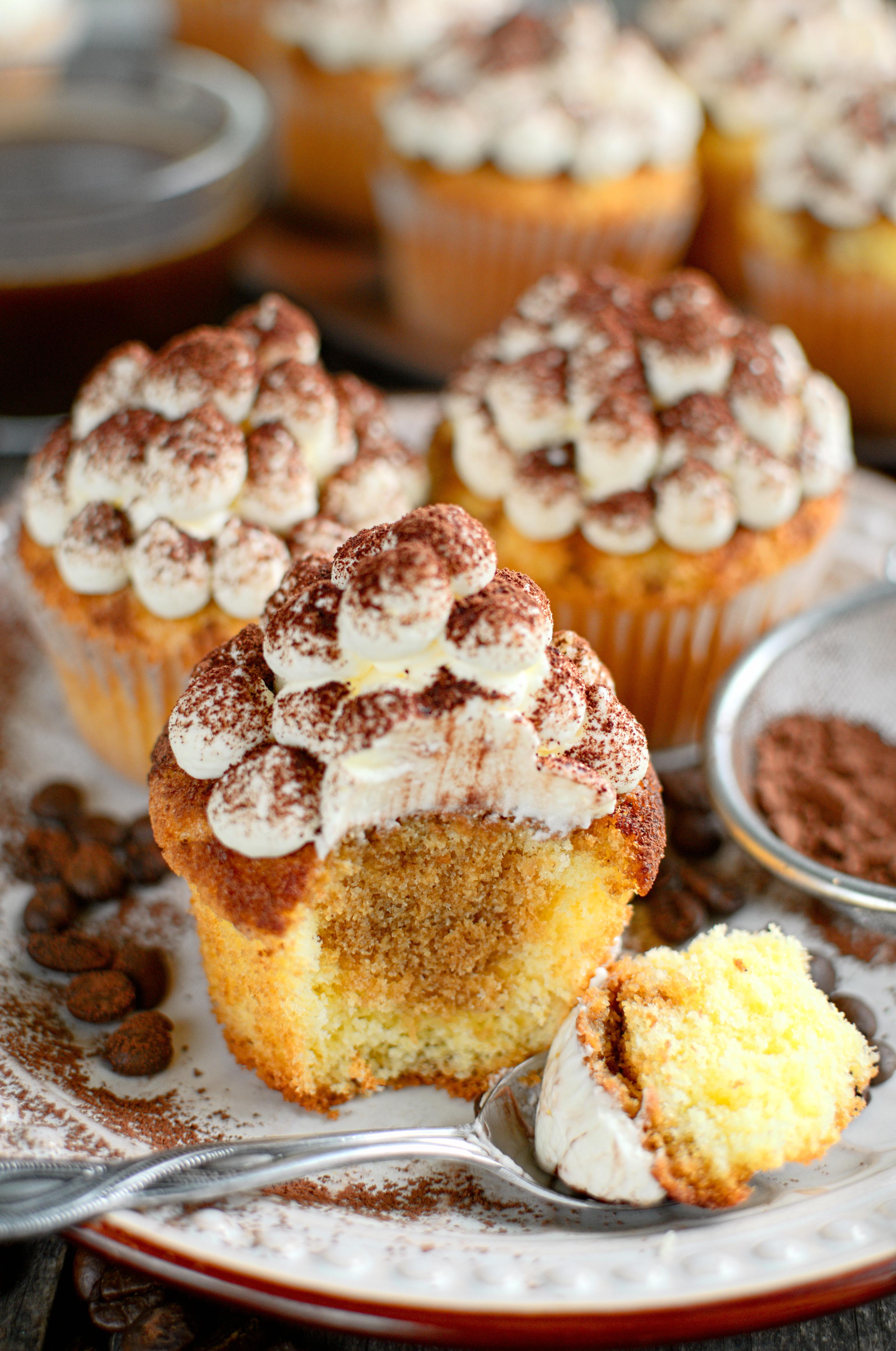 Babeczki tiramisu (tiramisu cupcakes)