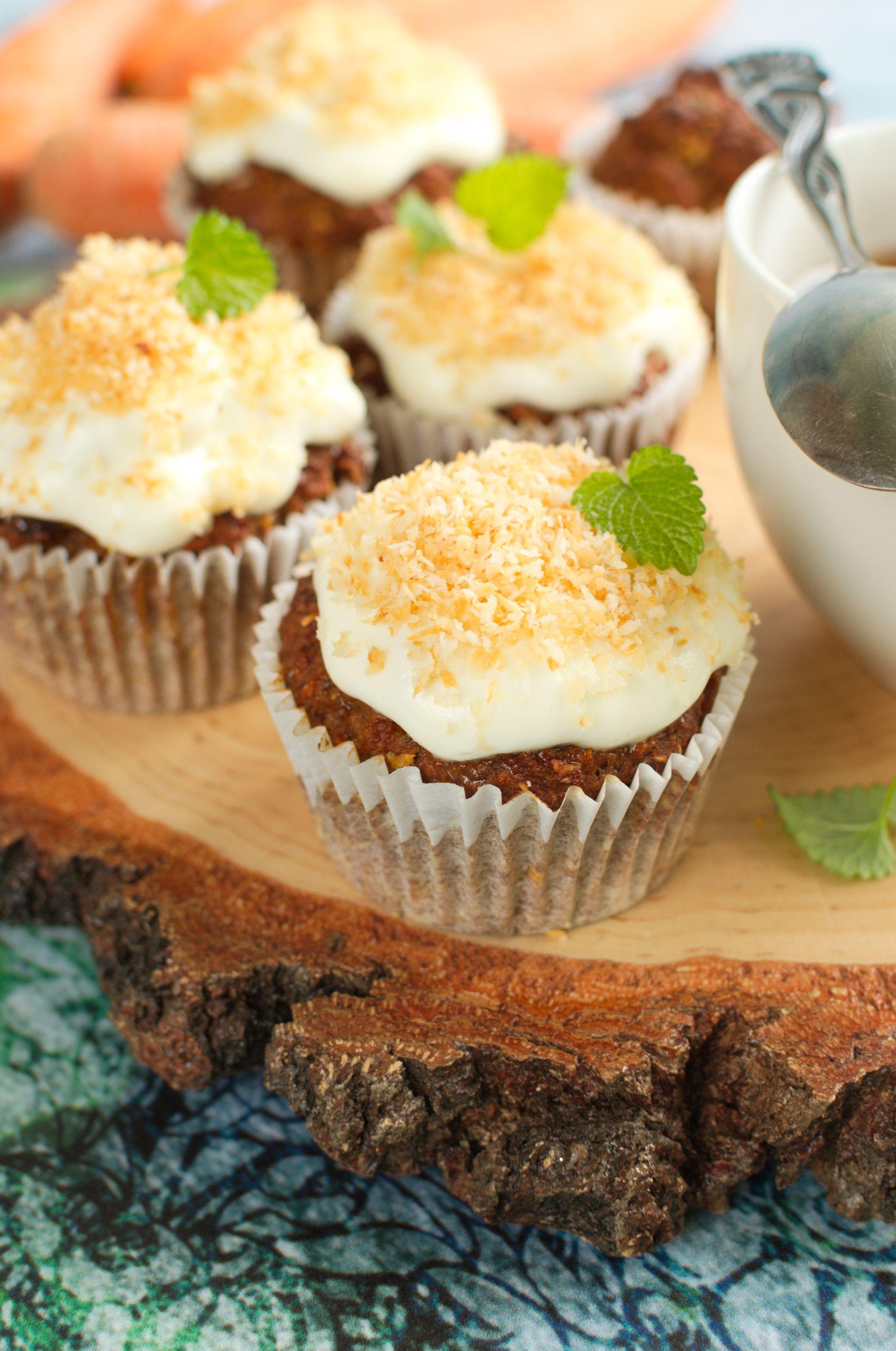 Fit muffinki marchewkowo-kokosowe