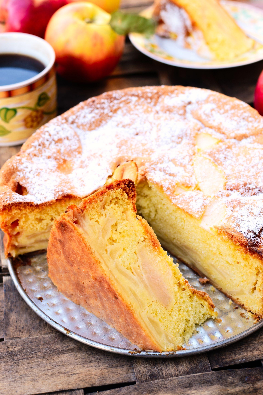 Włoska Szarlotka Torta Di Mele