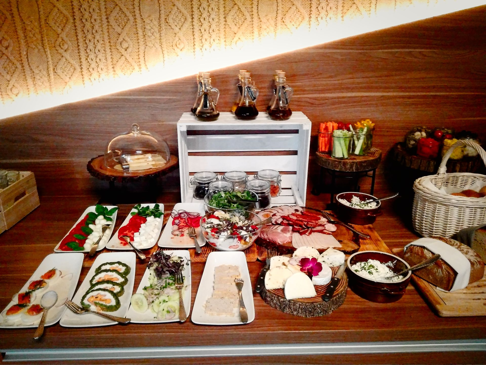 Śniadanie w restauracji Ferula.