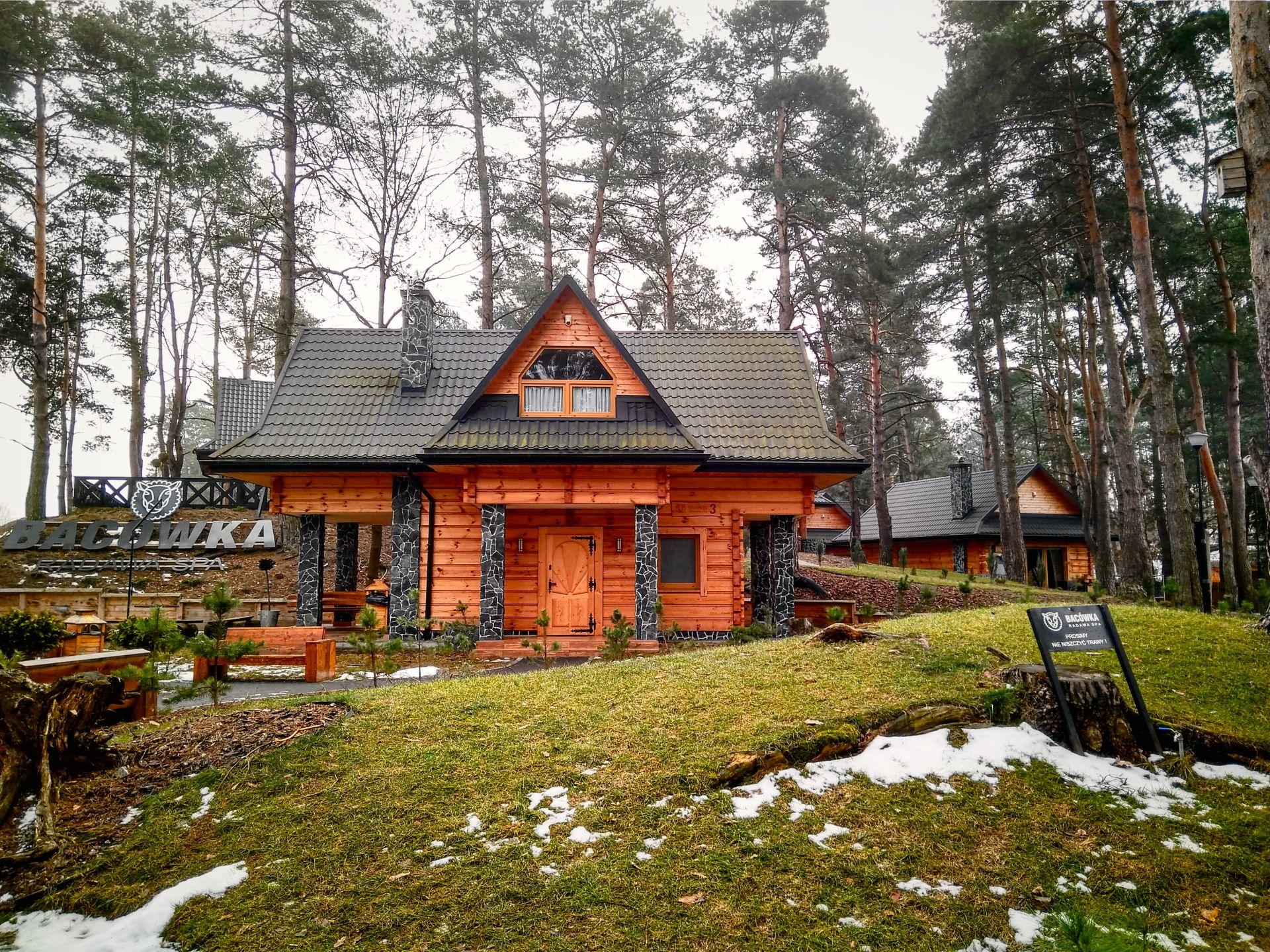 Jeden z domków Modern Folk