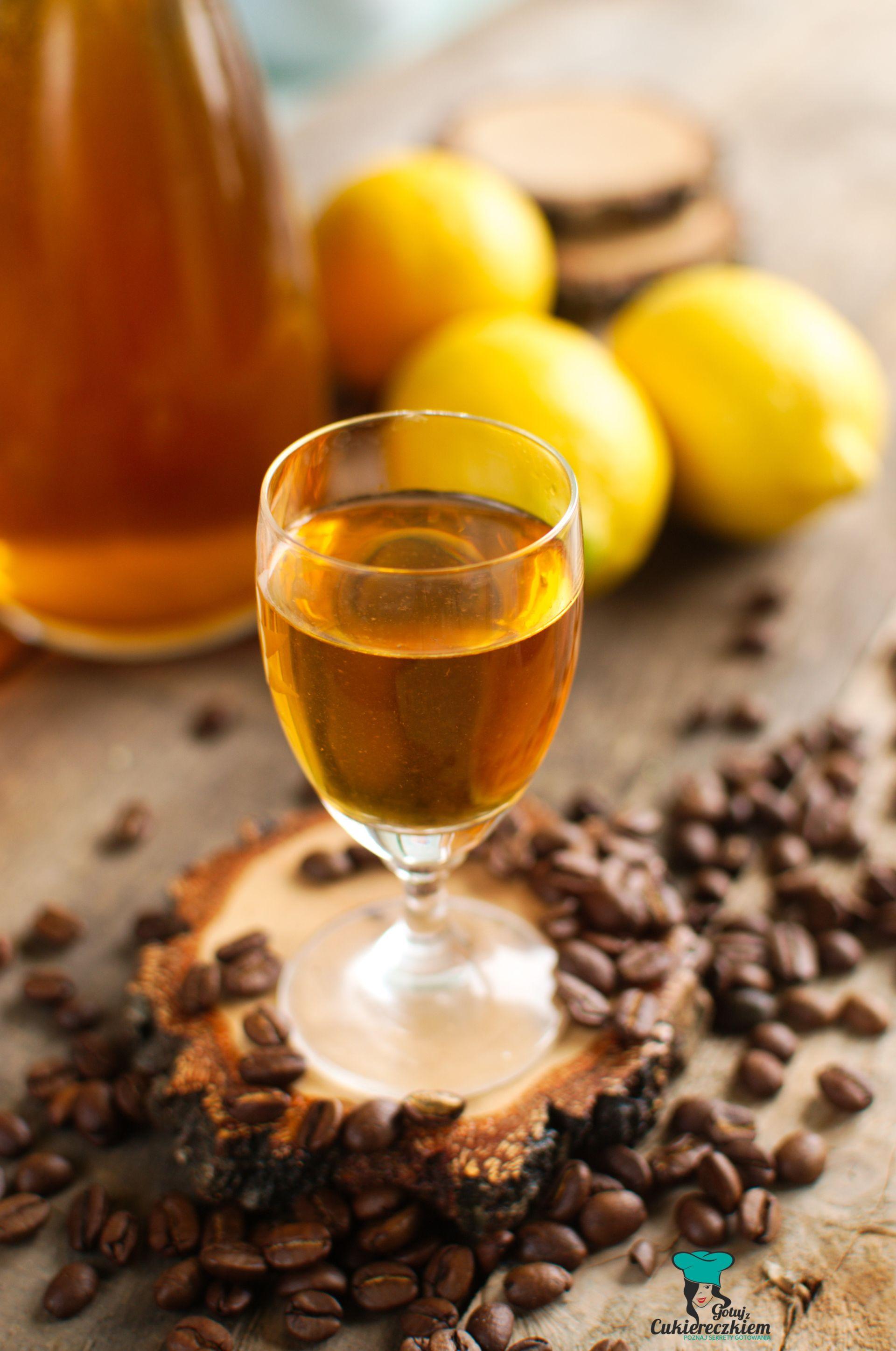 Nalewka cytrynowo-kawowa
