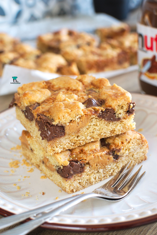 Cookie bars (ciasteczkowe kwadraciki)
