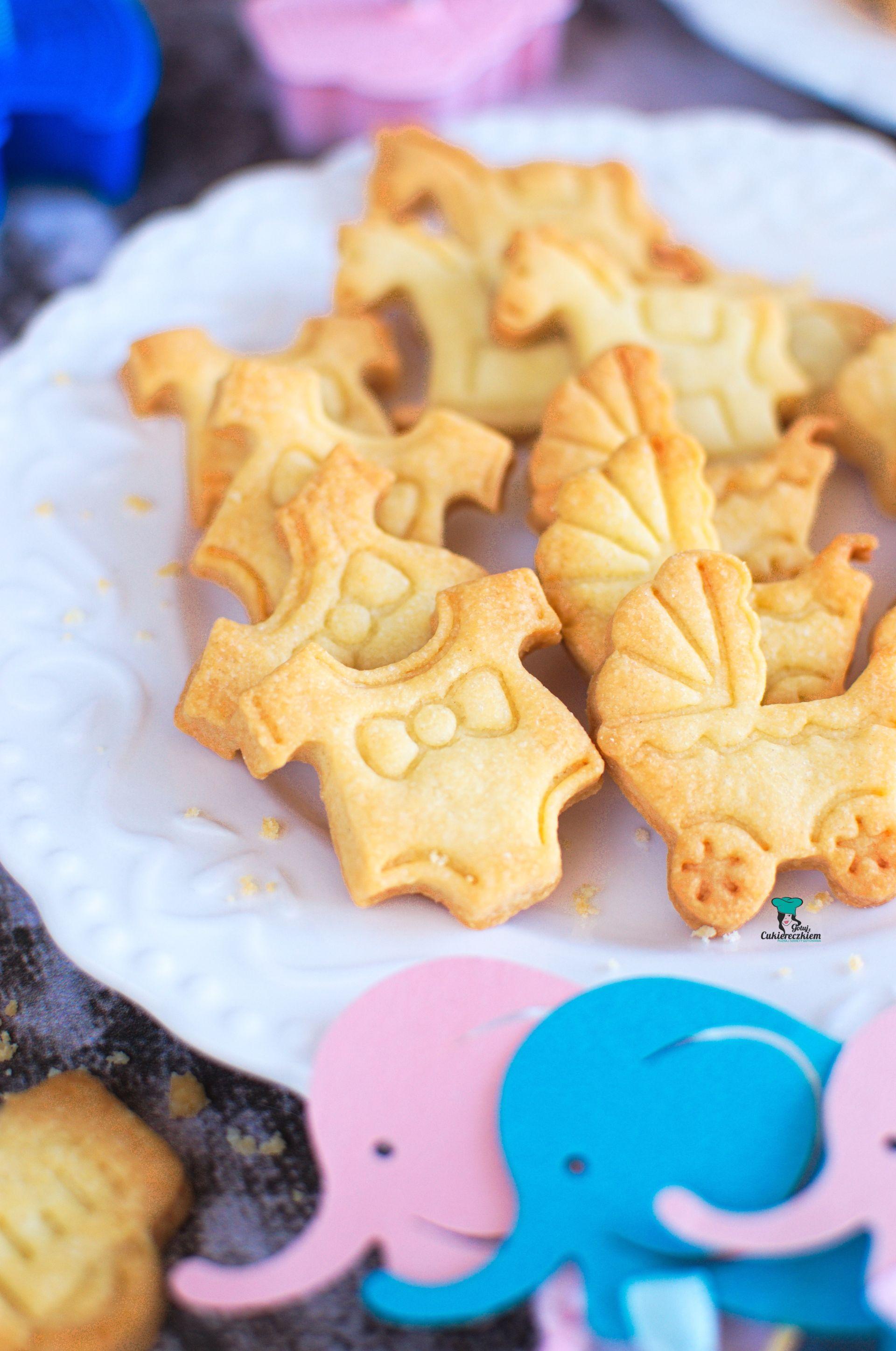 Kruche maślane ciasteczka (idealne do stempelków)