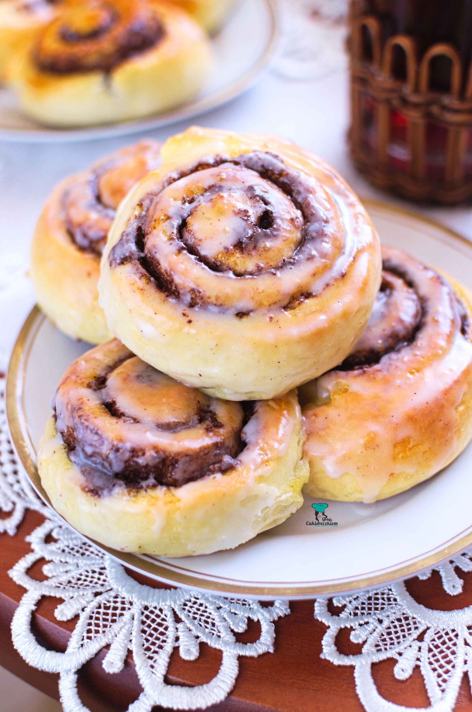 Bułeczki cynamonowe (Cinnamon rolls)