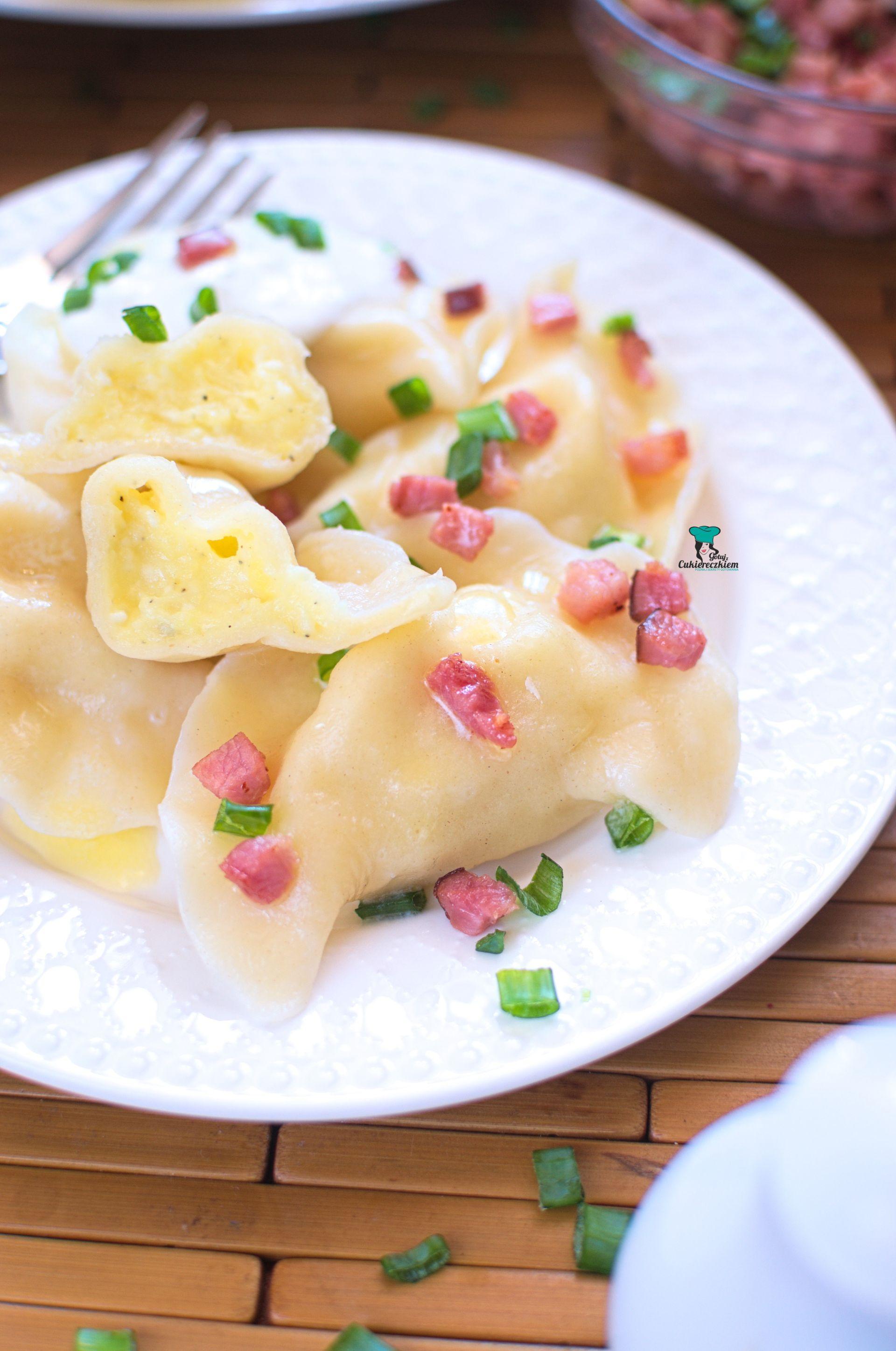 Pierogi ruskie z mozzarellą