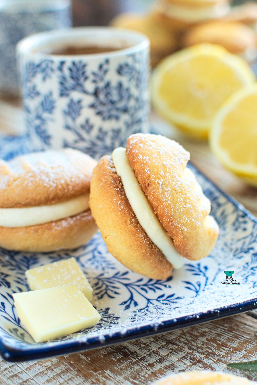 Kruche maślane ciasteczka cytrynowe (Lemon Melting Moments)