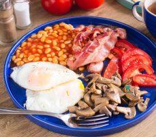 Angielskie śniadanie (english breakfast)