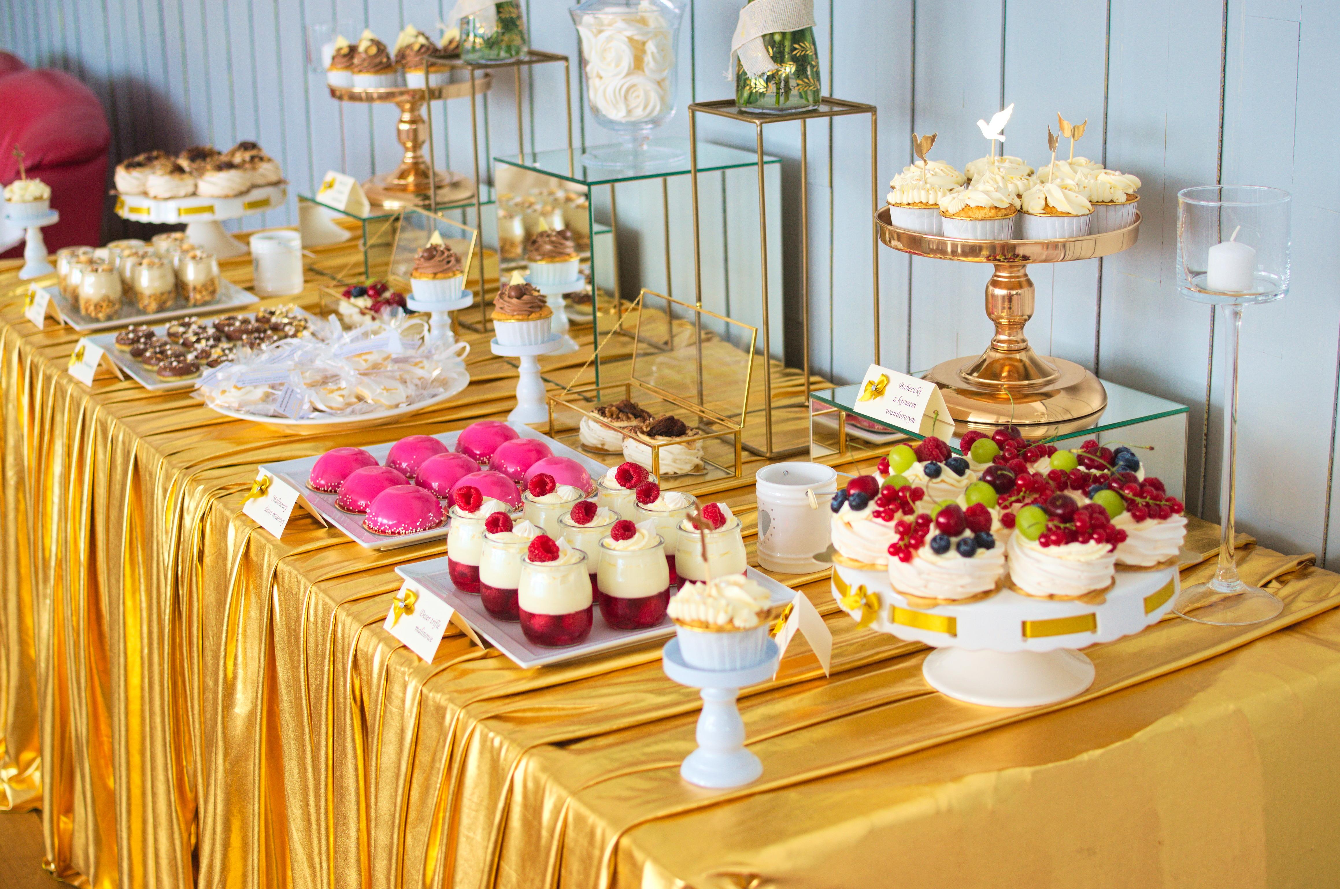 Słodki stół na komunię