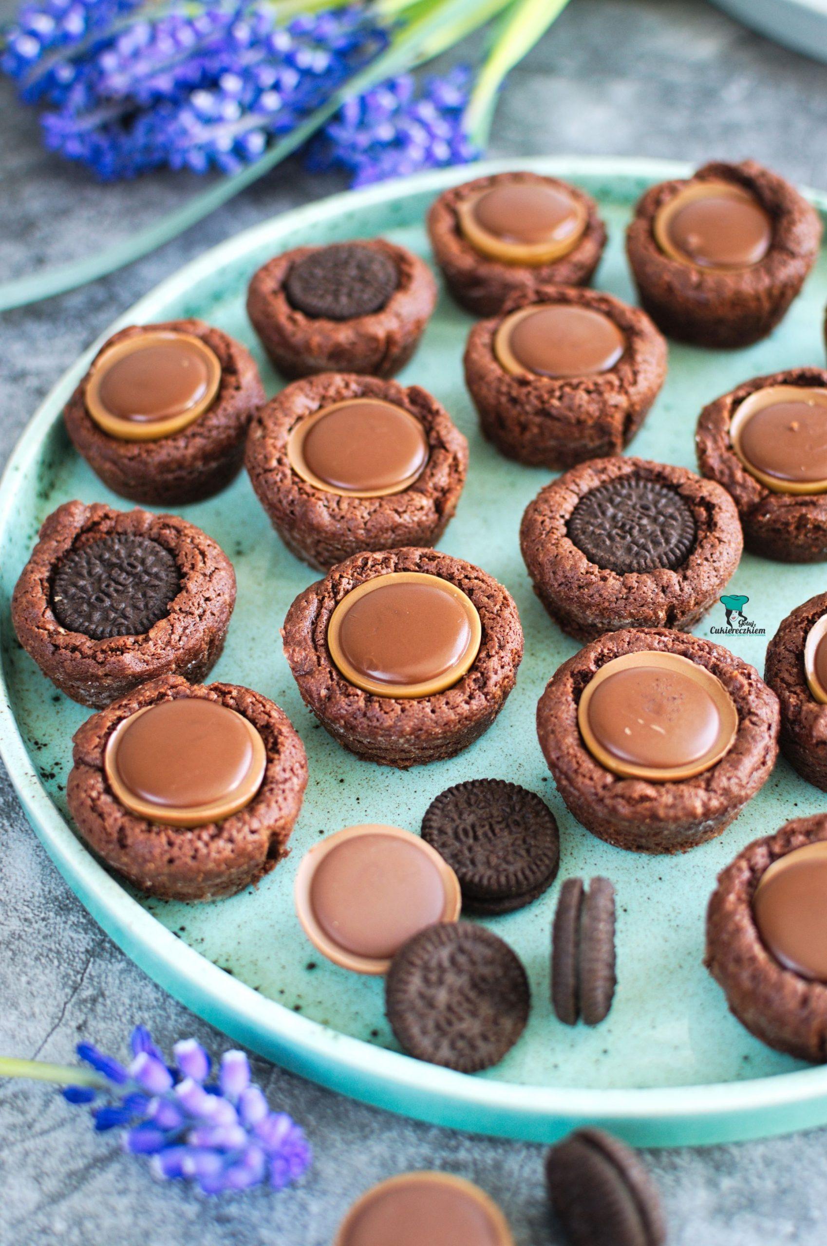 Kubeczki brownie