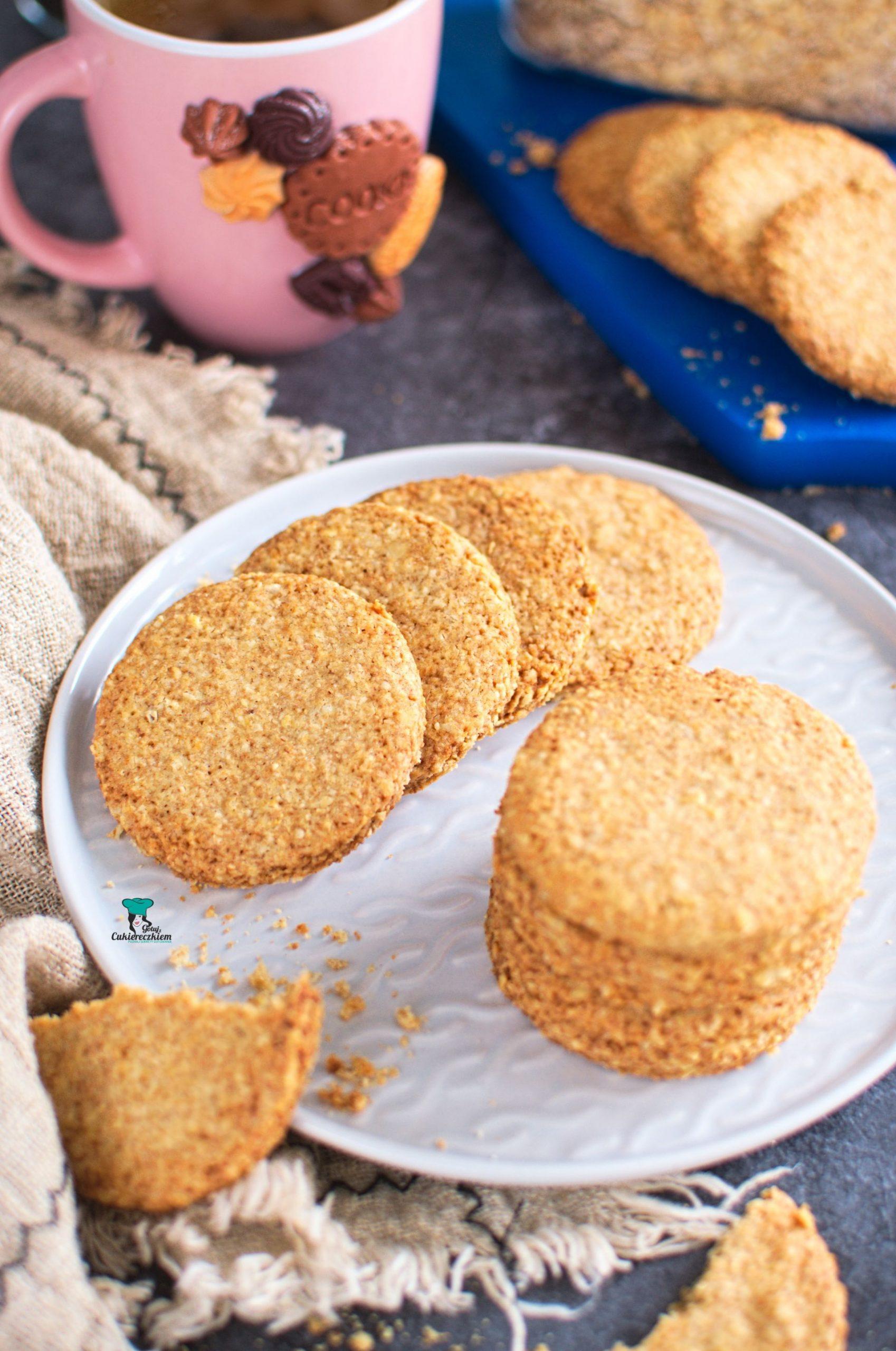 Domowe ciasteczka Digestive