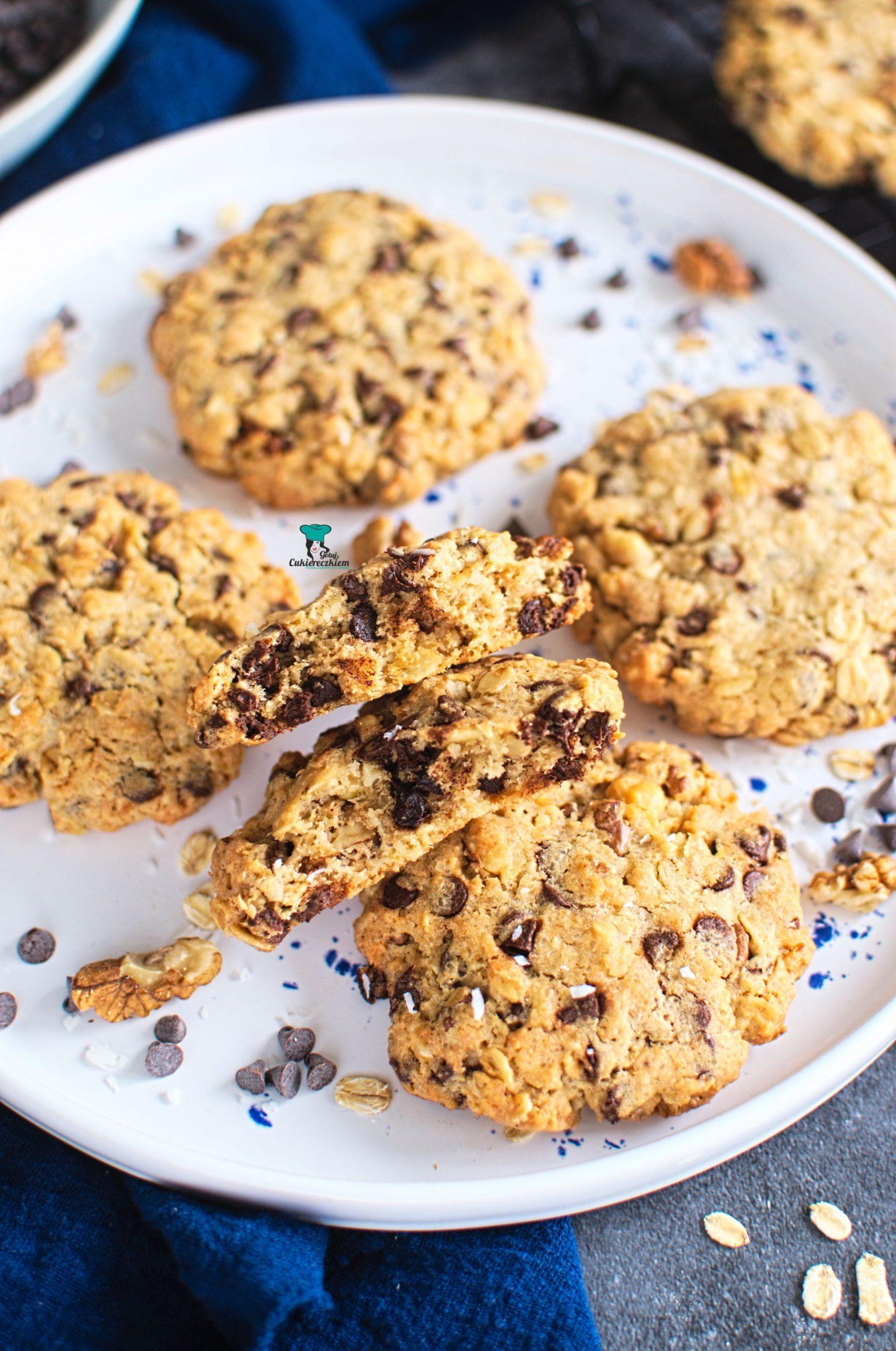 Ciastka kowbojskie (cowboy cookies)