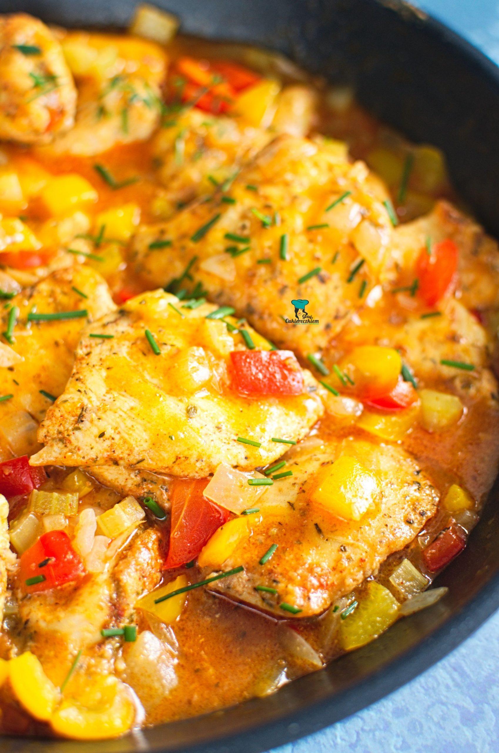 Kurczak w sosie po luizjańsku