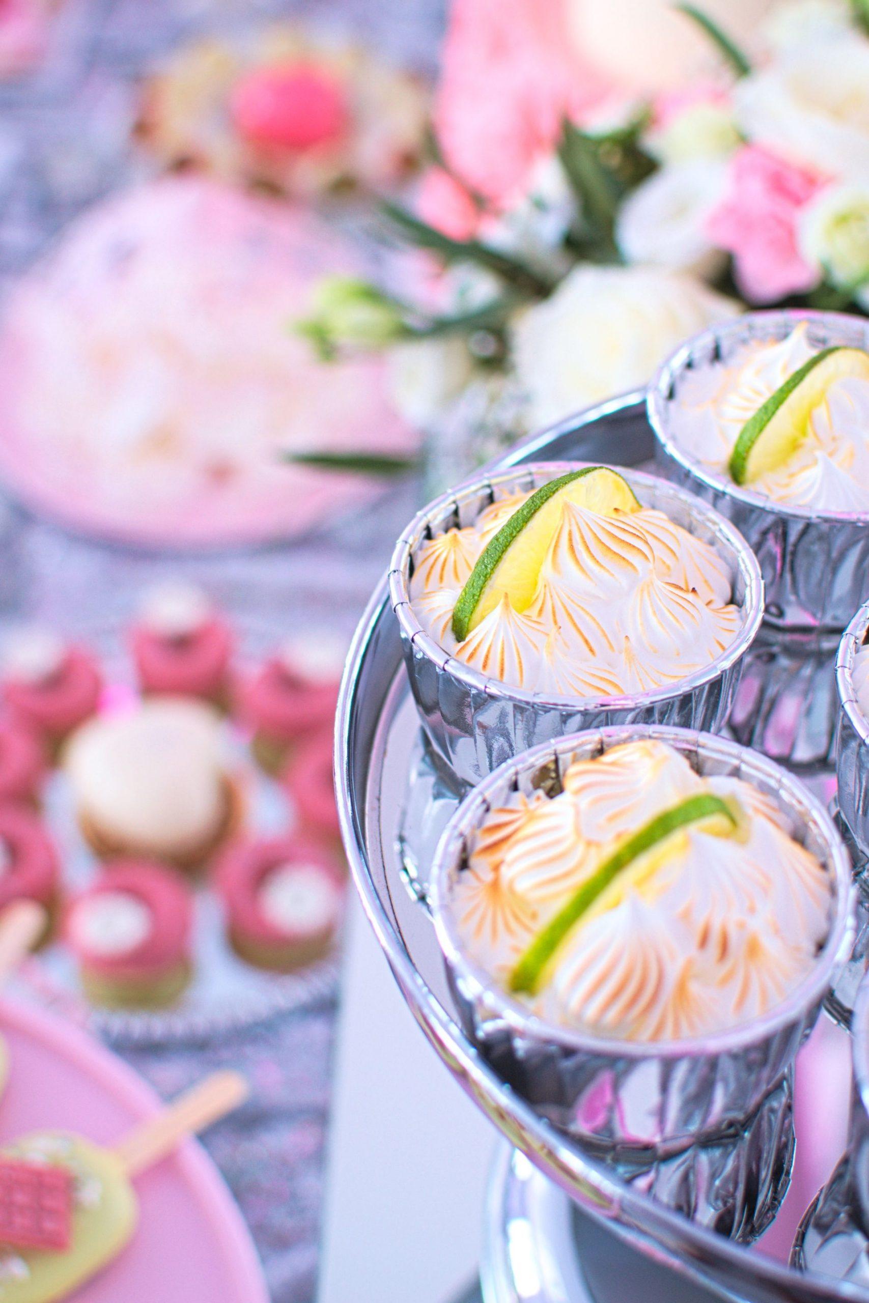 Serniczki limonkowe z bezą